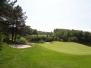 Vertidrainen en bezanden met holle pen greens golfbaan Brunssum